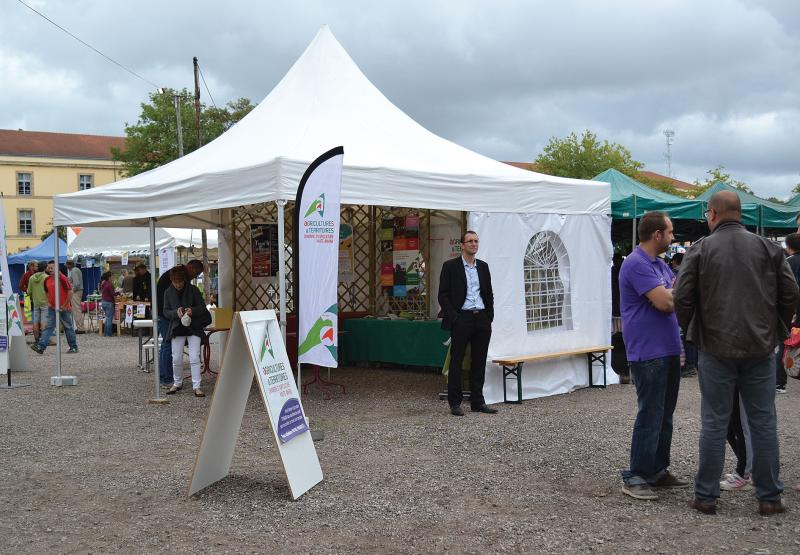 Stand Chambre d'Agriculture � E Dauphin