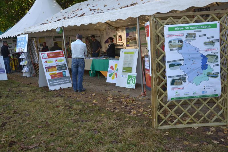 Stand Chambre d'Agriculture 52 � E.D.