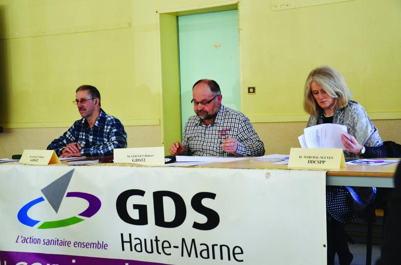 Le montant de la subvention 2017 pour le GDS 52 reste incertain.